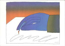 CPM Illustrateur - Folon - Ecrire - 1974 - Folon