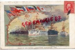 ETATS UNIS - AMERIQUE- PRIDE OF THE NAVIES  JAMESTOWN EXPOSITION 1907- FORTRESS  VIRGINIA - Etats-Unis
