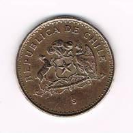 ° CHILI  1  PESO   1943 - Chili