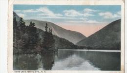 BF18329 Echo Lake White MTS N H USA Front/back Image - White Mountains