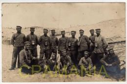 C361 - WWI -  Soldats Allemands - Schützengraben - Militari