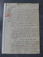 85 BOURBON Vendée 1839 Procès Expropriation Lausier, Maire, Vs Pasquereau, Borbel? Pellizaty?, Rousseau ; Ref 238 - Historische Dokumente