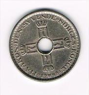 ° NOORWEGEN  1 KRONE 1949 - Norvège