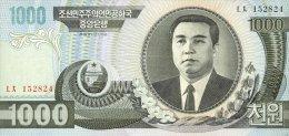 Korea North 1000 Won 2006 Pick 45 UNC - Korea, North
