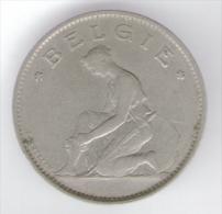 BELGIO 1 FRANC 1923 - 1909-1934: Alberto I