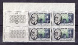 BLOC DE QUATRE  N* 1096 ( Numéroté 81803) NEUF** - Unused Stamps