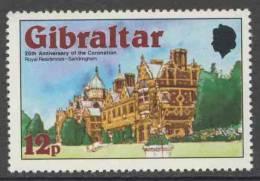 Gibraltar 1978 Mi 375 A  YT 374 ** Sandringham House, Norfolk / Königsschlösser / Palais - Kastelen