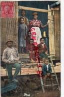 ETATS UNIS - TENNESSEE - MEMPHIS- NEGRO HOME IN A FREIGHT CAR - 1908 - Memphis