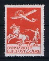 Denmark: 1925 Airmail  Mi Nr 144 MH/* - Luchtpostzegels