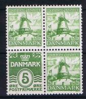 Denmark: 1937 Mi Nr 234   MNH/** From Booklets - 1913-47 (Christian X)
