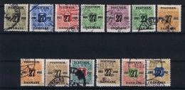 Denmark: 1918  Mi Nr 84 - 96 Used - 1913-47 (Christian X)