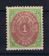 Danish West Indies, 1873 Mi Nr 5 I  MH/*