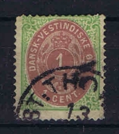 Danish West Indies, 1873 Mi Nr 5 I  Used - Deens West-Indië