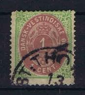 Danish West Indies, 1873 Mi Nr 5 I  Used