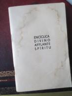 ENCICLICA DIVINO AFFLANTE SPITITU - 28 DE SETIEMBRE 1944 - PIU PP XII - VOIR PHOTOS - Guerre 1939-45