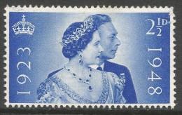 Great Britain. 1948 Royal Silver Wedding. 2½d MH SG 493 - 1902-1951 (Kings)