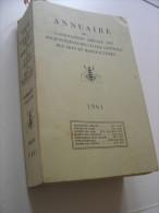 1961 Annuaire De L Association Amicale Des Anciens Eleves De L Ecole Centrale Des Arts Et Manufactures - Annuaires Téléphoniques