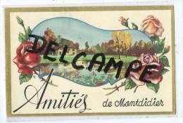 CPA - Amitiés De Montdidier - Montdidier
