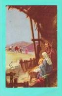 Joyeux Noel  étable MARIE Joseph JESUS  Lumiére Roi Mage - Non Classificati