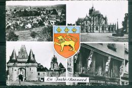 CPSM GF -  104 -   La Ferté Bernard   - Vue Générale - église Notre DAME DES MARAIS - PORTE DE VILLE   LFS24 - La Ferte Bernard