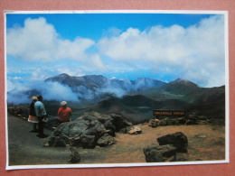 34398 PC: HAWAII - Spectaculer HALEAKALA VOLCANIC CRATER Is The Super Attraction Of Haleakala National Park. - Other