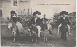 44-60280   -  LA BAULE    -    Paludiers Partant Pour La Promenade - La Baule-Escoublac