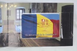Collectible Phone Card ASTA Andorra - 10th Anniversary Of Andorra Constitution/ Anniversari De La Constitució - Unopened - Tarjetas Telefónicas