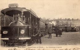 PARIS Vécu - Rond-Point De L'Etoile - Les Tramways à Vapeur - Arrondissement: 16