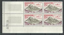 "Andorre Coins Datés Aerien YT 5 "" Vallée 2F00 "" 1961-64 Neuf - Andorra Francese"