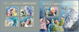 ca14115ab Central African 2014 Achille Compagnoni ealge 2 s/s