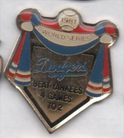 Baseball , Dodgers , Los Angeles - Honkbal