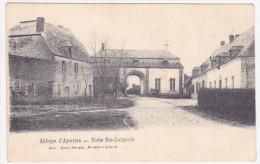 Lasne - Abbaye D´ Aywiers - Porte Ste Lutgarde -1905 -  Edit. René Berger (Braine L´ Alleud) - Lasne