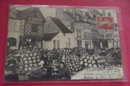 Cp  Auxonne Marche Aux Choux Fleurs - Auxonne