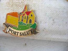 Pin´s  Fromage Port Salut - Levensmiddelen