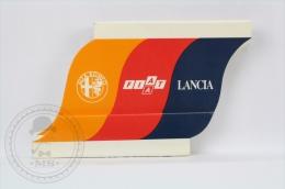 Rare Advertising Matchbox/ Matches - Alfa Rome, Fiat, Lancia - Stock Club Car Service - Unused - Cajas De Cerillas (fósforos)