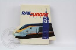 Advertising Matchbox/ Matches - Eurostar Train - Rail Europe - Unused - Cajas De Cerillas (fósforos)