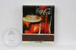Advertising Matchbox/ Matches - Coca Cola Spanish Advertising - Unused - Boites D'allumettes