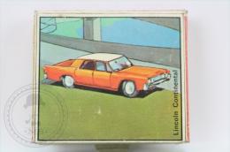 Advertising Matchbox/ Matches -Italy Car Series: Lincoln Continental & BMC Aerodinamica Pininfarina - Unused - Cajas De Cerillas (fósforos)
