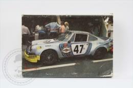 Advertising Matchbox/ Matches - Racing Car Series: Porsche Carrera RSR - Cajas De Cerillas (fósforos)