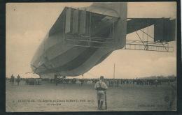 AVIATION - DIRIGEABLES - LUNÉVILLE - Le ZEPPELIN Au Champs De Mars - 3 Avril 1913 - Dirigeables