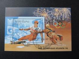"BLOC FEUILLET "" LAOS "" J.O. ATLANTA 1996 - BF 130 - Base Ball - Zomer 1996: Atlanta"