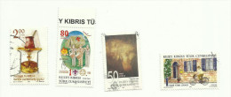 R.T.C.N   N°613, 614, 616, 621 - Cyprus (Turkey)