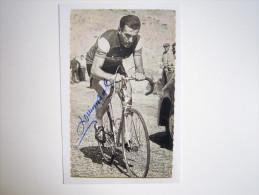 CYCLISME CICLISMO RADSPORT WIELRENNEN :  Louison BOBET  Maillot National  Carte Miroir Sprint NB Reproduction - Cyclisme