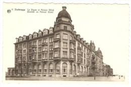 ZEEBRUGGE   ---  La Digue Et Palace Hôtel --  Zeedijk En Palace Hotel - Zeebrugge
