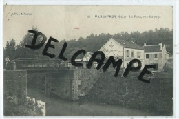 CPA - Varinfroy - Le Pont, Vue D'amont - France