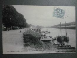 80 SAINT-VALERY-sur-SOMME  -  Vue Générale Du Port - Saint Valery Sur Somme