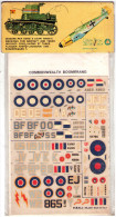 INSEGNE  PER  AEREI  E  CARRI  ARMATI , Commonwealth  Boomerang  ,   Badges And Markings - Aerei E Elicotteri