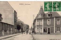 YVETOT RUE CARNOT EN 1912 - Yvetot