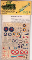 INSEGNE  PER  AEREI  E  CARRI  ARMATI , Westland  Lysander  ,  Badges And Markings - Aerei E Elicotteri
