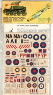 INSEGNE  PER  AEREI  E  CARRI  ARMATI , De Havilland  Mosquito   ,  Badges And Markings - Aerei E Elicotteri
